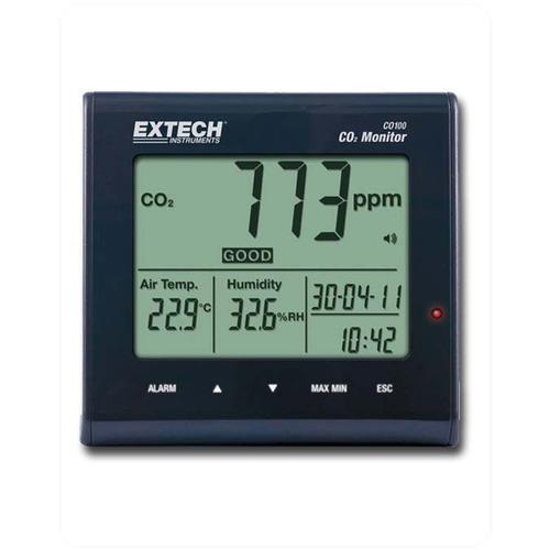 Vochtmeters Extech CO100 CO2 Meter